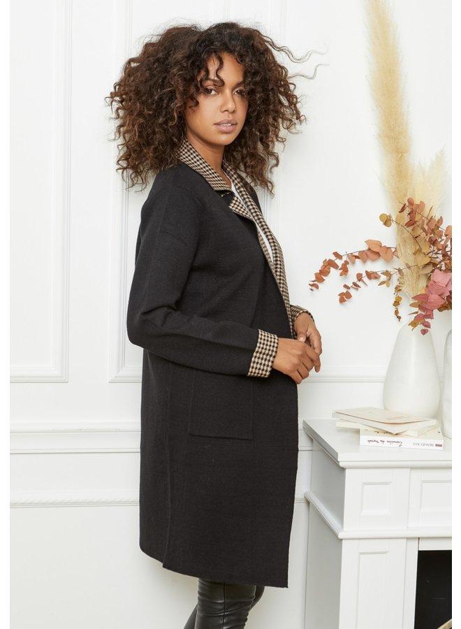 Jacket Céleste black