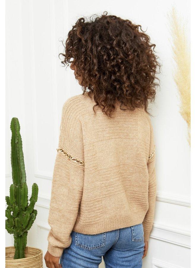 Sweater Yada Camel