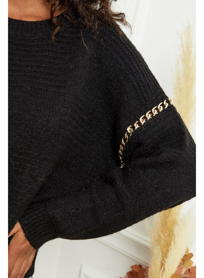Sweater Yada black