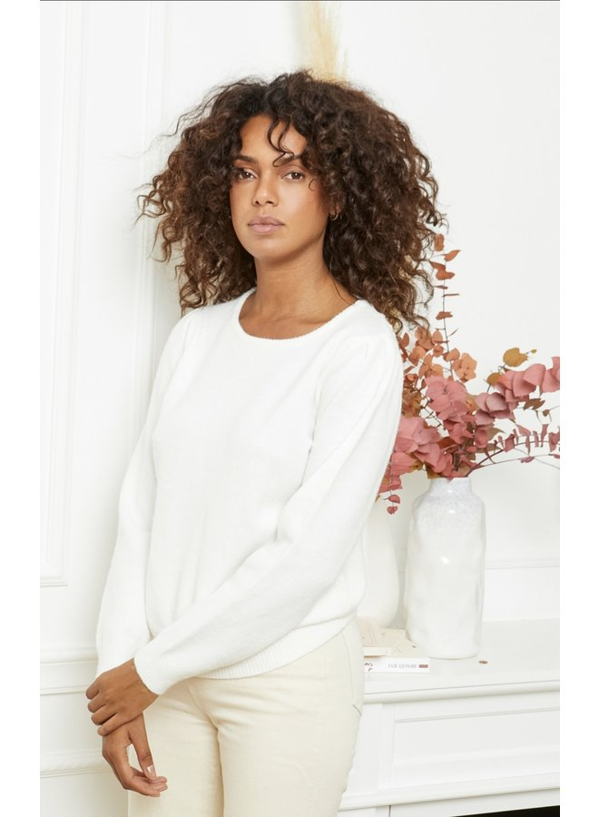 Sweater Nona white