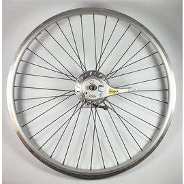 Shimano Voorwiel met rollerbrake zwarte spaken