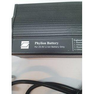 Phylion Nieuwe phylion oplader/refrescher 25.9v