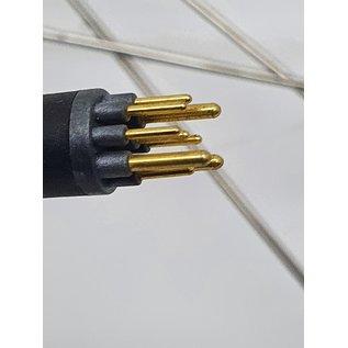 28'voorwiel met 24v motor 9 pins aansluiting