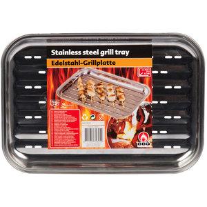 BBQ Collection Grillplaat 34,5x24cm RVS