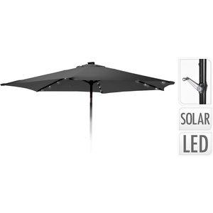 Ambiance Parasol met verlichting - 270cm - antraciet