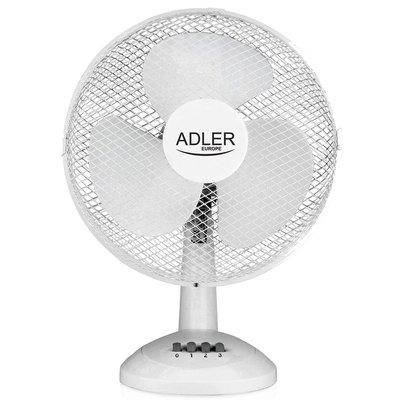 Adler AD7303 - Tafelventilator wit - 30cm