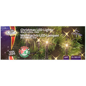 Christmas Gifts Kerstverlichting warm wit 120 LED´s