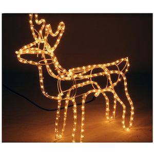 DecorativeLighting Lichtslang rendier 62x61cm