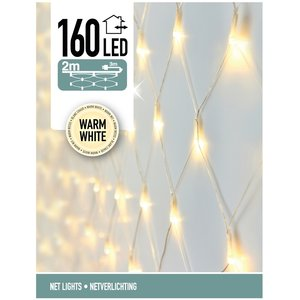 DecorativeLighting Netverlichting 160 LED's 200 x 100 cm warm wit