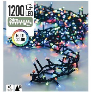 DecorativeLighting Micro Cluster 1200 LED's 24 meter multicolor