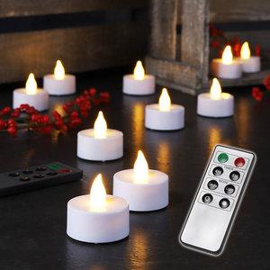 Haushalt International LED Theelichtjes - 10 stuks