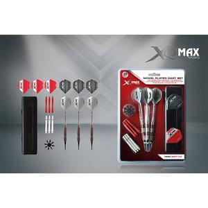 XQ Max Dartset soft tip - nickel plated - 18gram