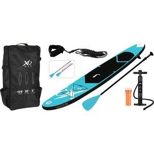 XQ Max SUP Board Set - Opblaasbaar - 320x76x15cm - blauw