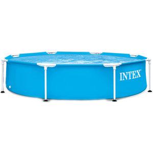 Intex Opzetzwembad - metalen frame - Ø244cm