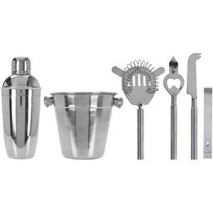 Excellent Houseware Cocktail Set -  6 delig - RVS