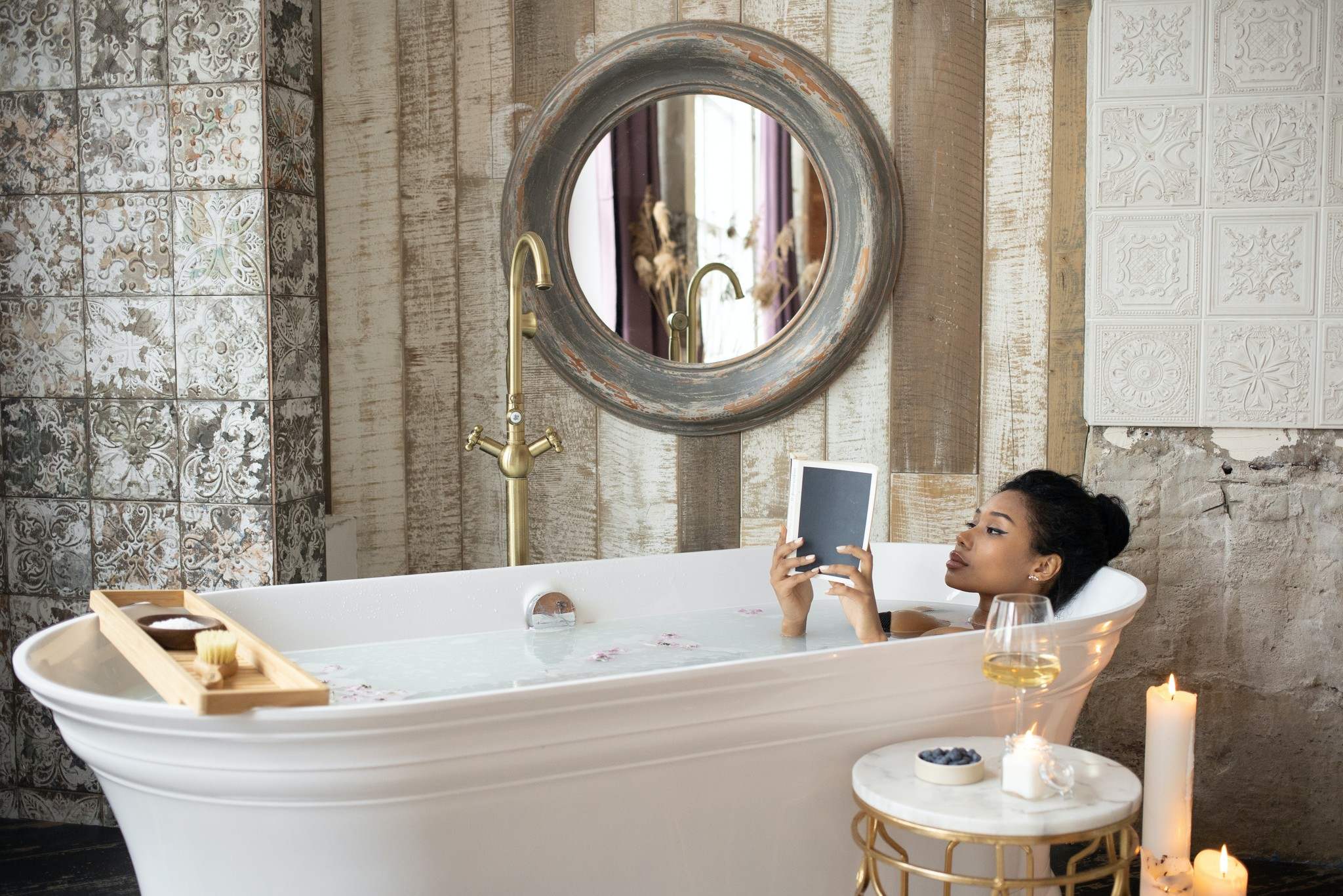 Badkamer- en douche-accessoires