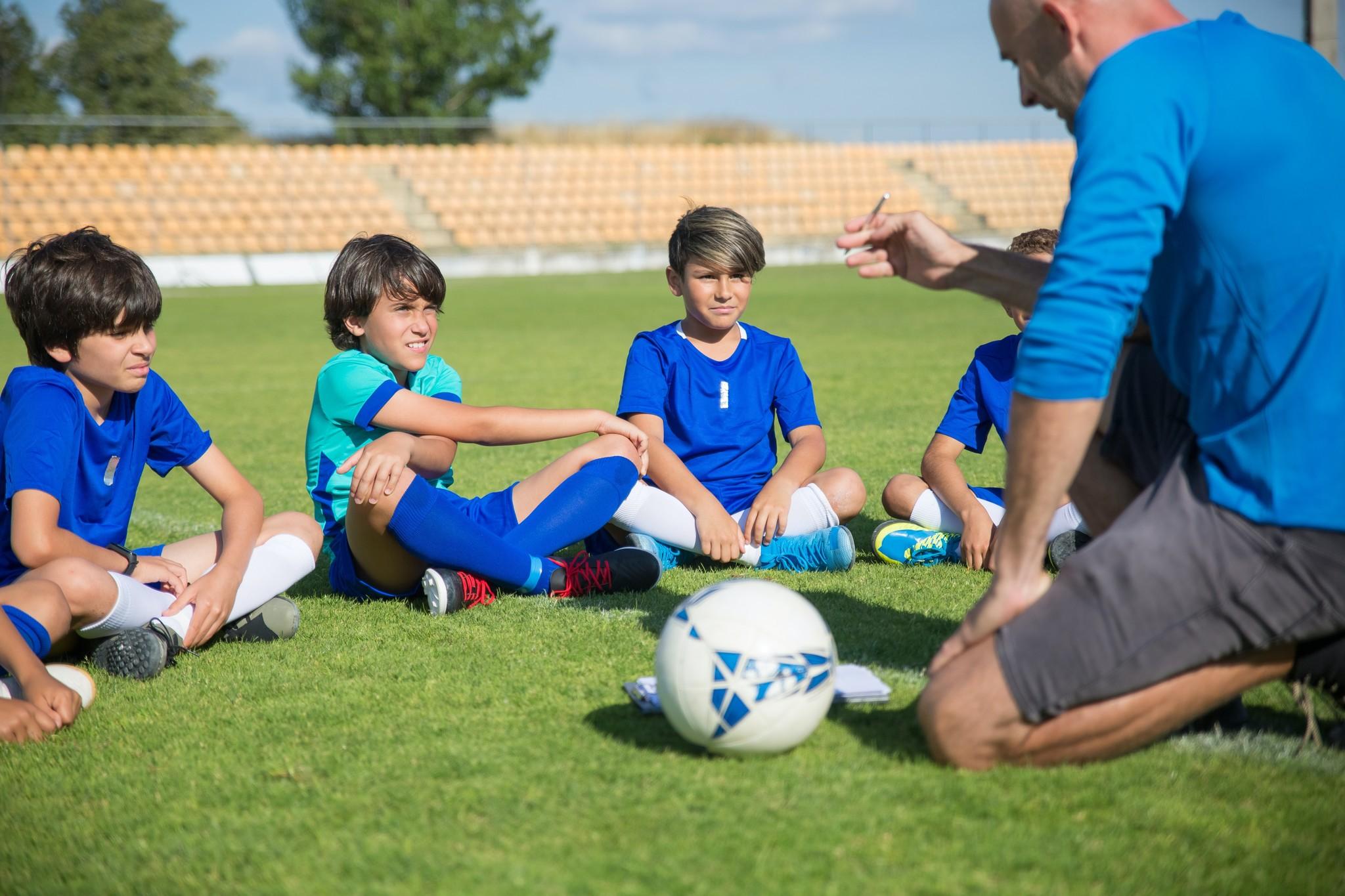 Voetbal   Oefening baart kunst!