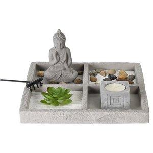 Boeddha Zen Tuin - Zen Garden Set - 4 vakken