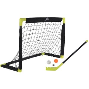 XQ Max Hockeyset - 2 goals, 2 sticks, bal en puck
