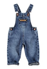 Piupiuchick Dungarees Washed blue denim jeans baby