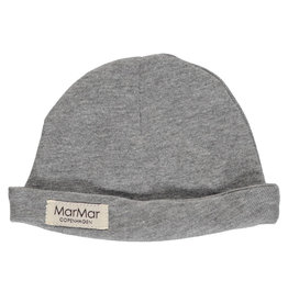 MarMar Copenhagen Aiko Modal Newborn Hat Grey melange