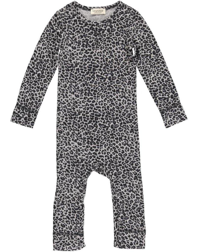 MarMar Copenhagen Leopard suit - Grey Leo