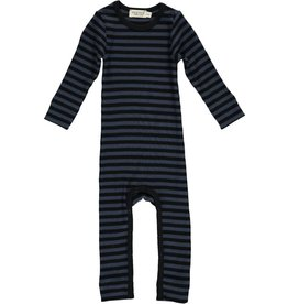 MarMar Copenhagen Modal stripes suit black/blue