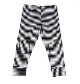 Mingo Legging black/white stripes
