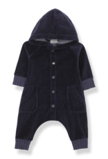 1+ in the family Hood jumpsuit dark blue