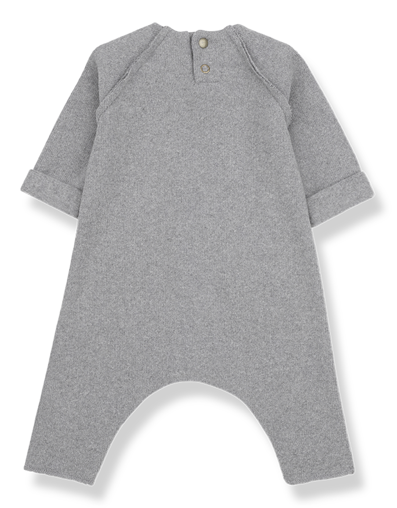 1+ in the family Hood jumpsuit light grey