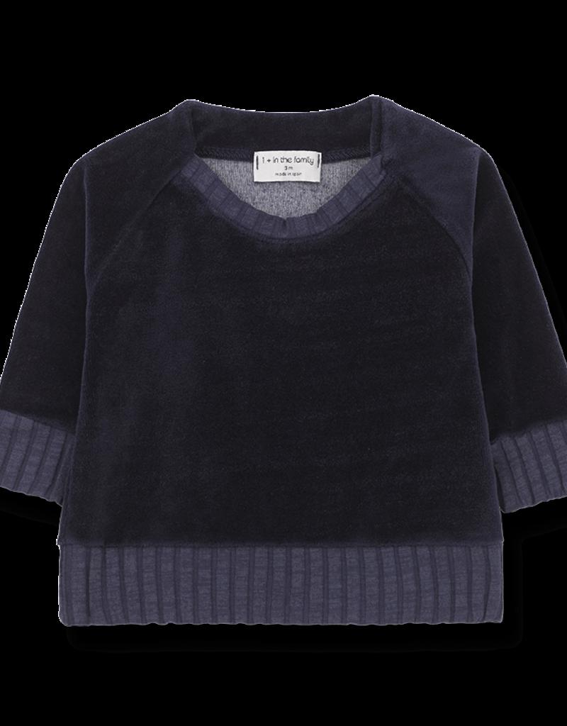 1+ in the family Sweatshirt dark blue