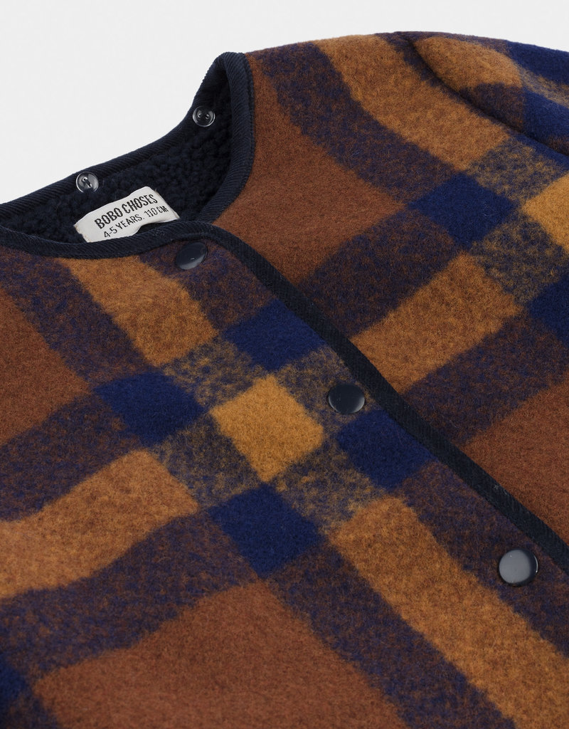 Bobo Choses Checker Jacket