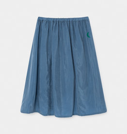Bobo Choses Green Moon Cupro Midi Skirt
