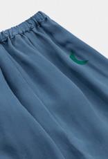 Bobo Choses Green Moon Cupro Midi Skirt