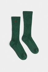 Bobo Choses Green Lurex Socks
