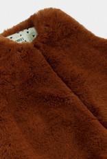 Bobo Choses Brown Faux Fur Vest