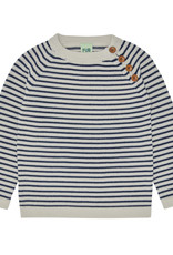 FUB Sweater ecru/navy