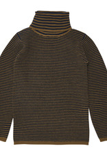 FUB Rollneck blouse sienna/navy
