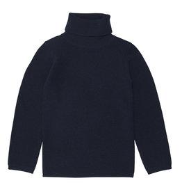 FUB Rollneck blouse navy