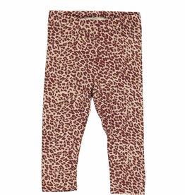 MarMar Copenhagen Leopard pants - Wine leo
