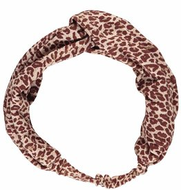 MarMar Copenhagen Leopard Headband Wine Leo
