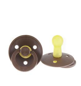 BIBS fopspeen van natuurlijk rubber (6-18 mnd) - chocolate