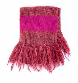 Long Live The Queen Scarf old pink