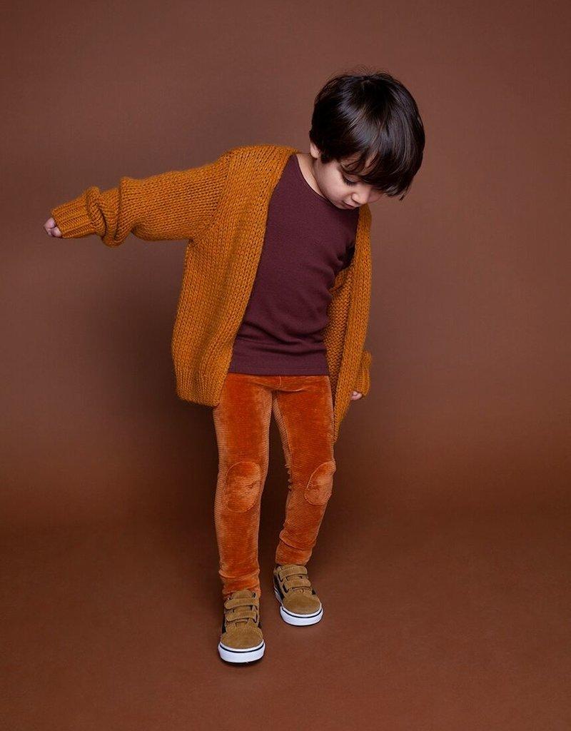 Mingo Legging red wood