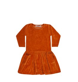 Mingo Dress red wood