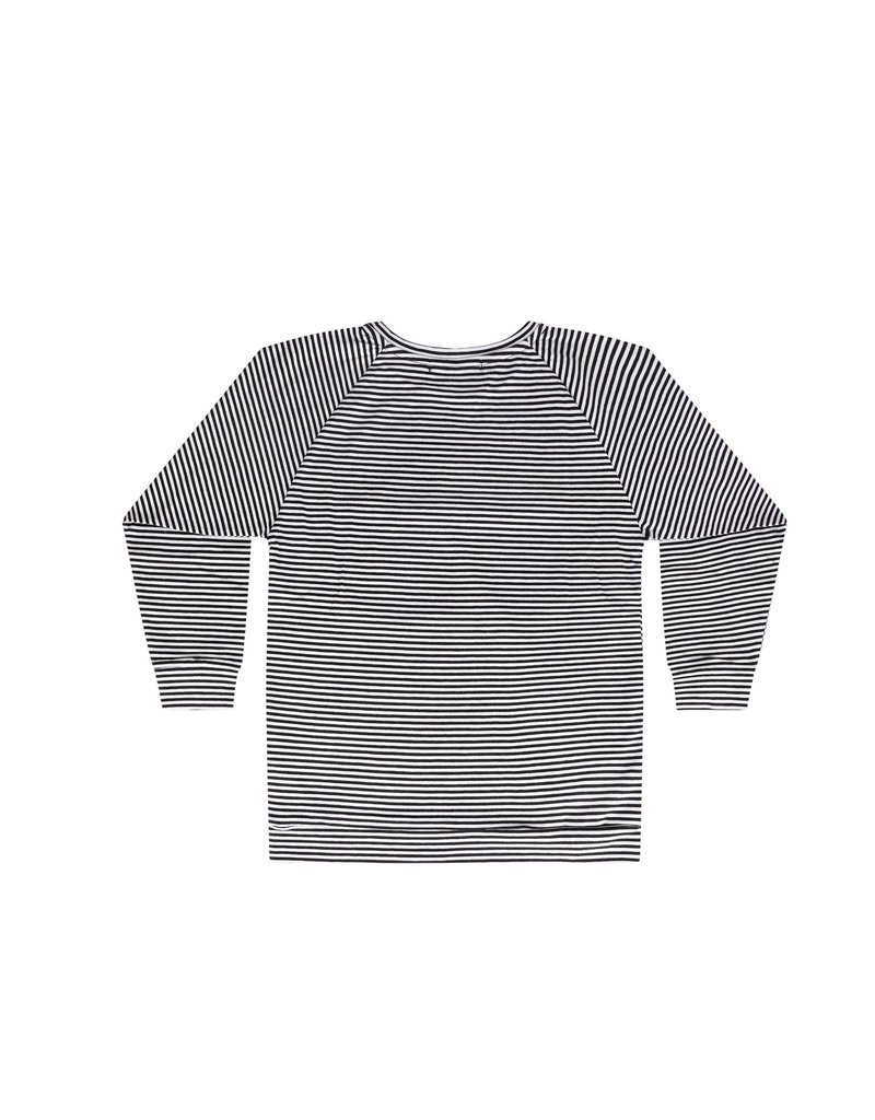 Mingo Long sleeve black/white stripes