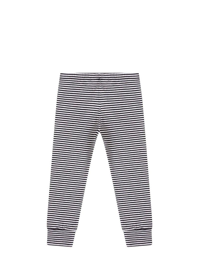 Mingo Legging black/white stripes