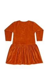 Mingo Dress red wood