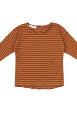 Phil & Phae Raw-edged top stripes L/S