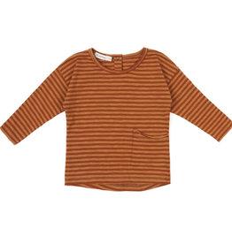 Phil & Phae Raw-edged top stripes L/S